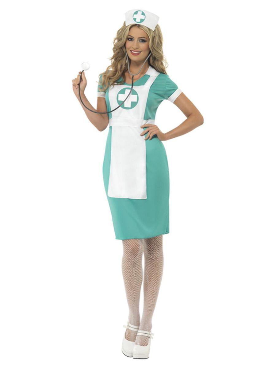 Kostým zdravotní sestřička uniforma Velikost: S (36-38)