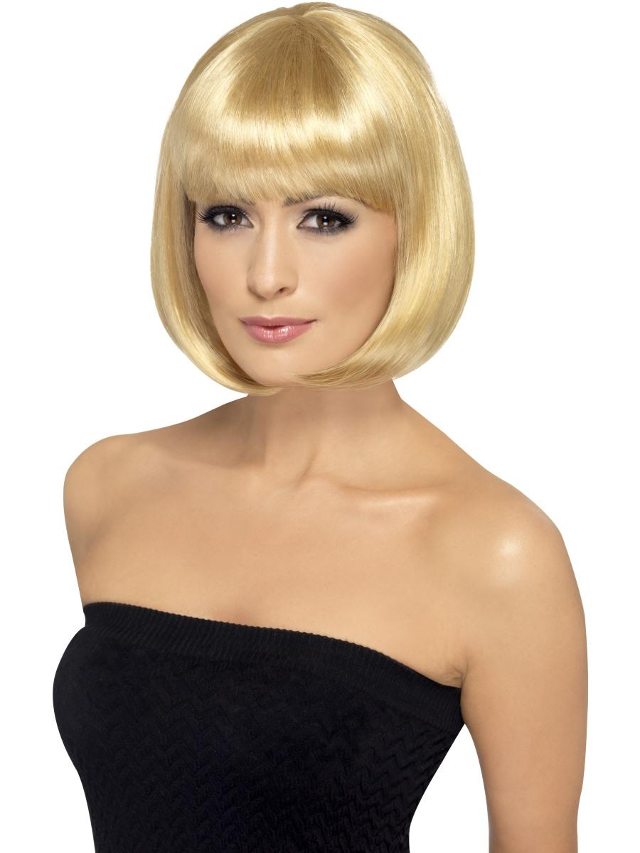 Dámská paruka krátká blond