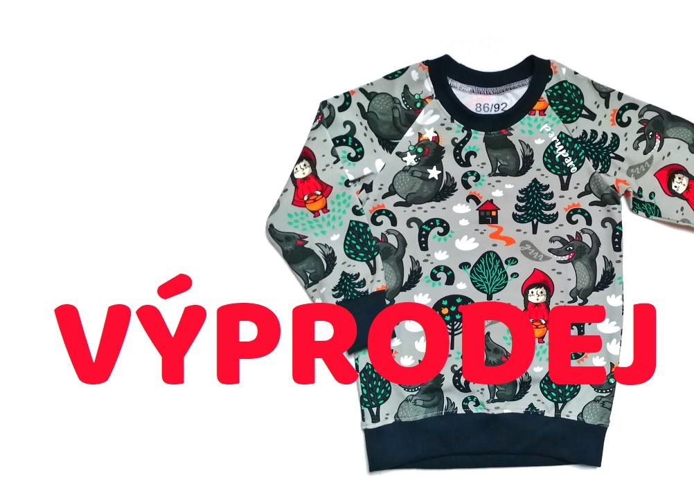 výprodej dětských pyžamek