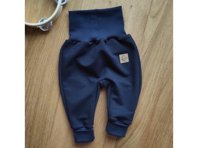 Baby tepláčky tmavě modré