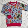 Pyžamko dlouhé s autorským motivem rybiček - holčičí