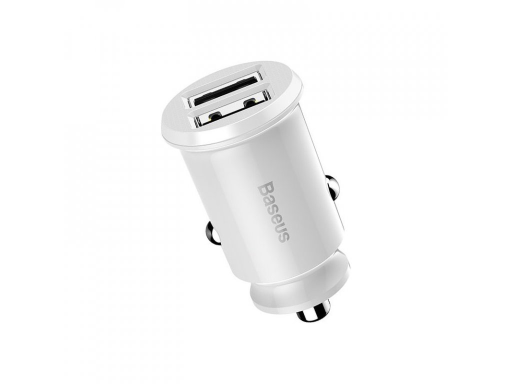baseus ccall ml02 grain car charger 31a white