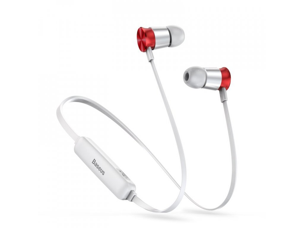 19754 9 eng pl baseus encok sports s07 wireless in ear bluetooth headphones headset 60 mah silver red ngs07 s9 46988 1