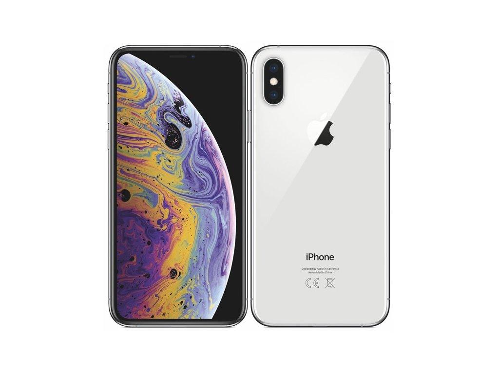 Apple iPhone XS 64GB Silver Zánovní A++