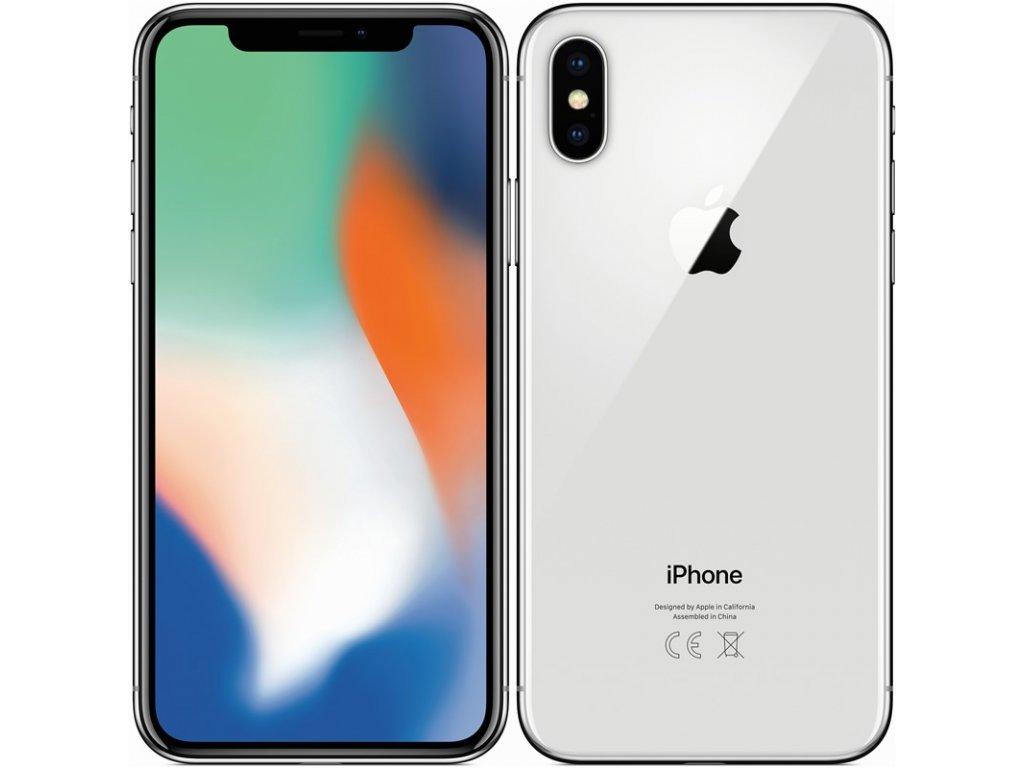 Apple iPhone X 256GB Silver A- Grade