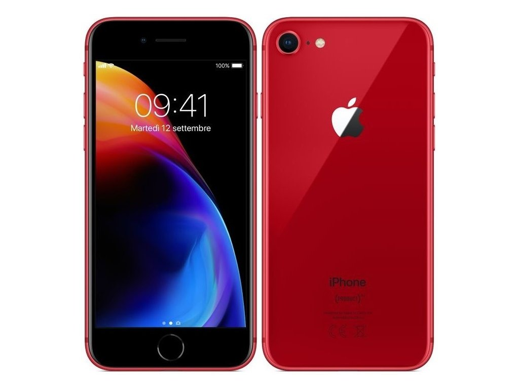 Apple iPhone 8  64GB Red A- Grade