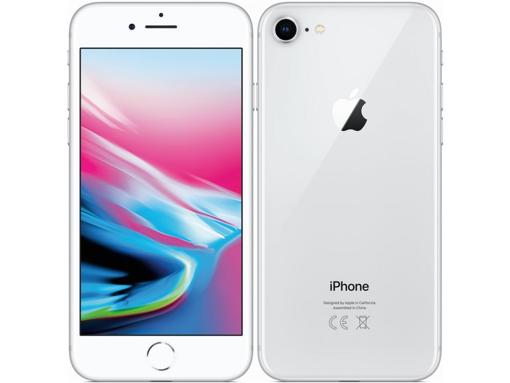 Apple iPhone 8 64GB Silver A-