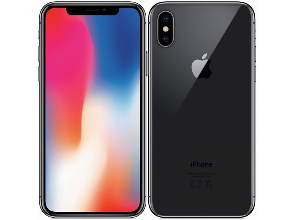 Apple iPhone X 64GB Space Grey A-