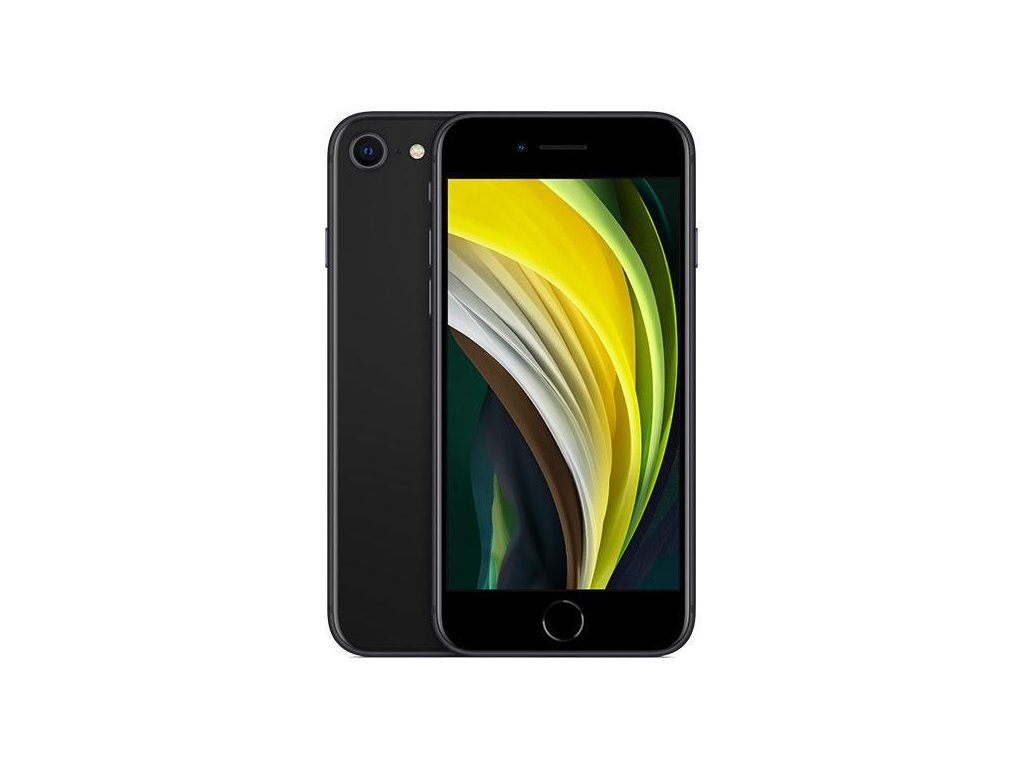 Apple iPhone SE (2020), 128GB Black A +++ Zánovní
