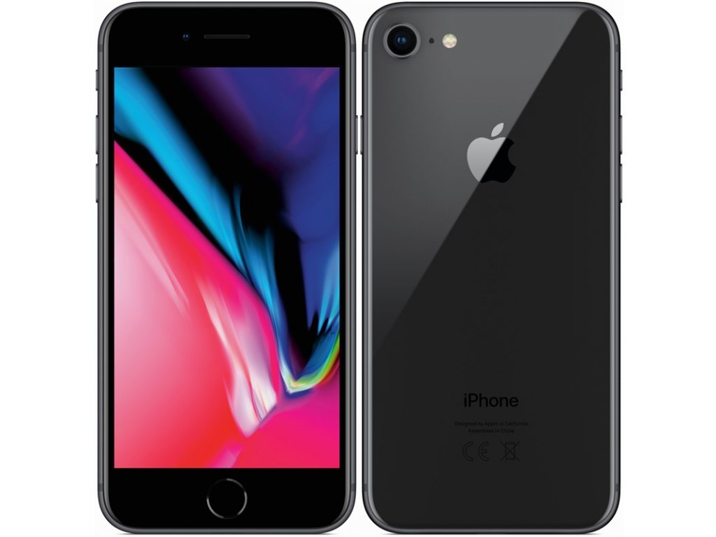 Apple iPhone 8 64GB Black A/B