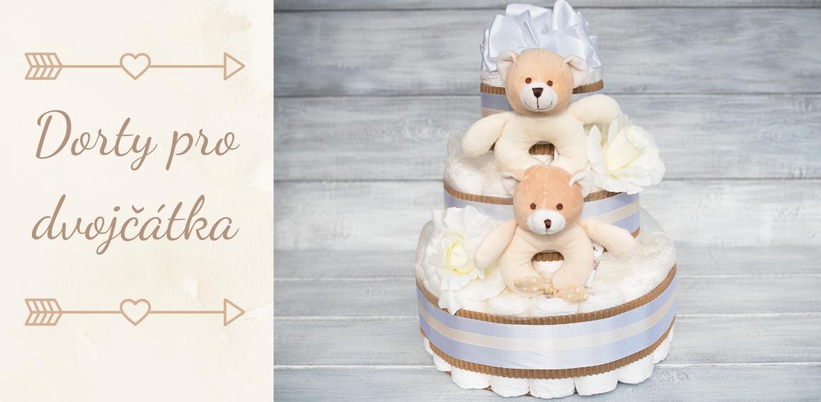 Plenkové dorty pro dvojčátka