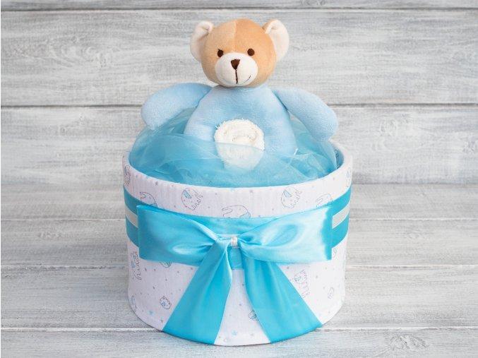 Plenkovy dort jednopatrovy pro chlapecka modry letni deka 1
