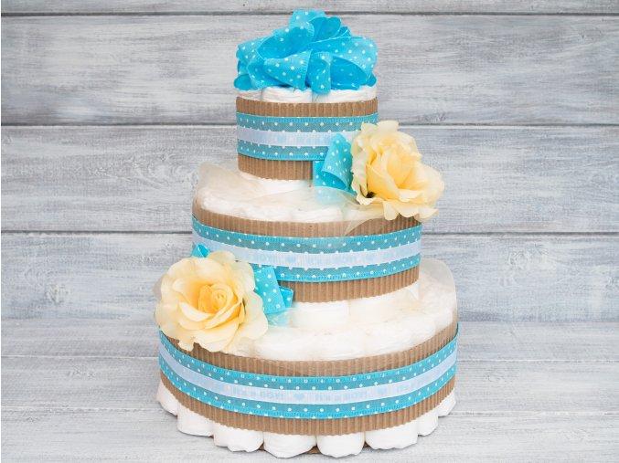 Plenkový dort pro chlapečka - It´s a Boy!