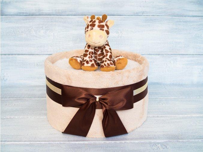Plenkovy dort jednopatrovy deka zirafa