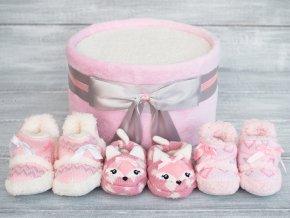 Plenkový dort jednopatrový - růžovostříbrný