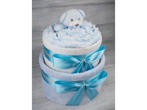 Plenkovy dort dvoupatrovy pro chlapecka medvidek4