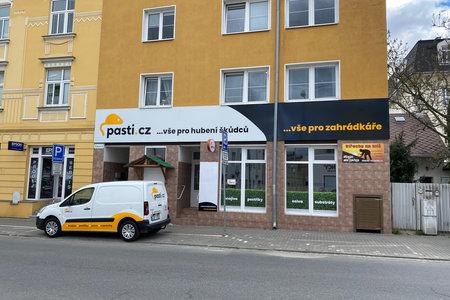 Prodejna a výdejna e-shopu Pasti.cz, Tomkova 60/29, Olomouc