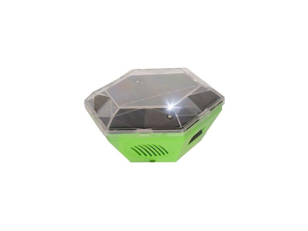 Solární ultrazvukový plašič ptáků GARDIGO 360°