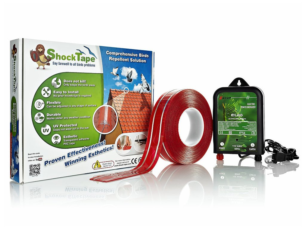 Elektrická páska proti ptákům - Shock Tape