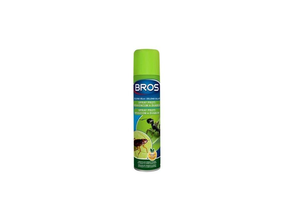 Zelená síla - Sprej proti mravencům a švábům BROS 300ml