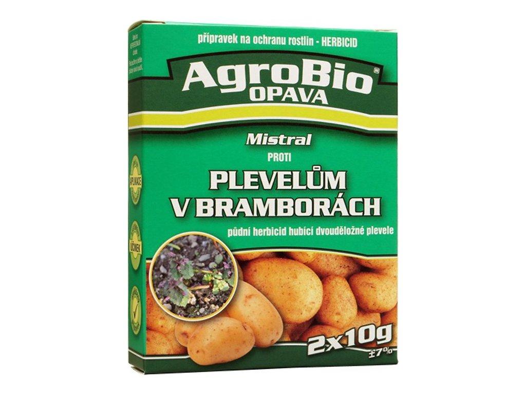 Proti plevelům v bramborách Mistral 2x10g