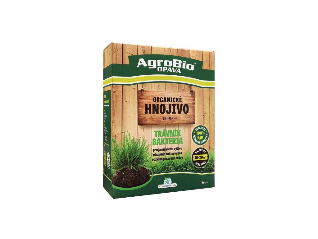 Přírodní hnojivo pro trávník Bakteria - Trumf 1kg