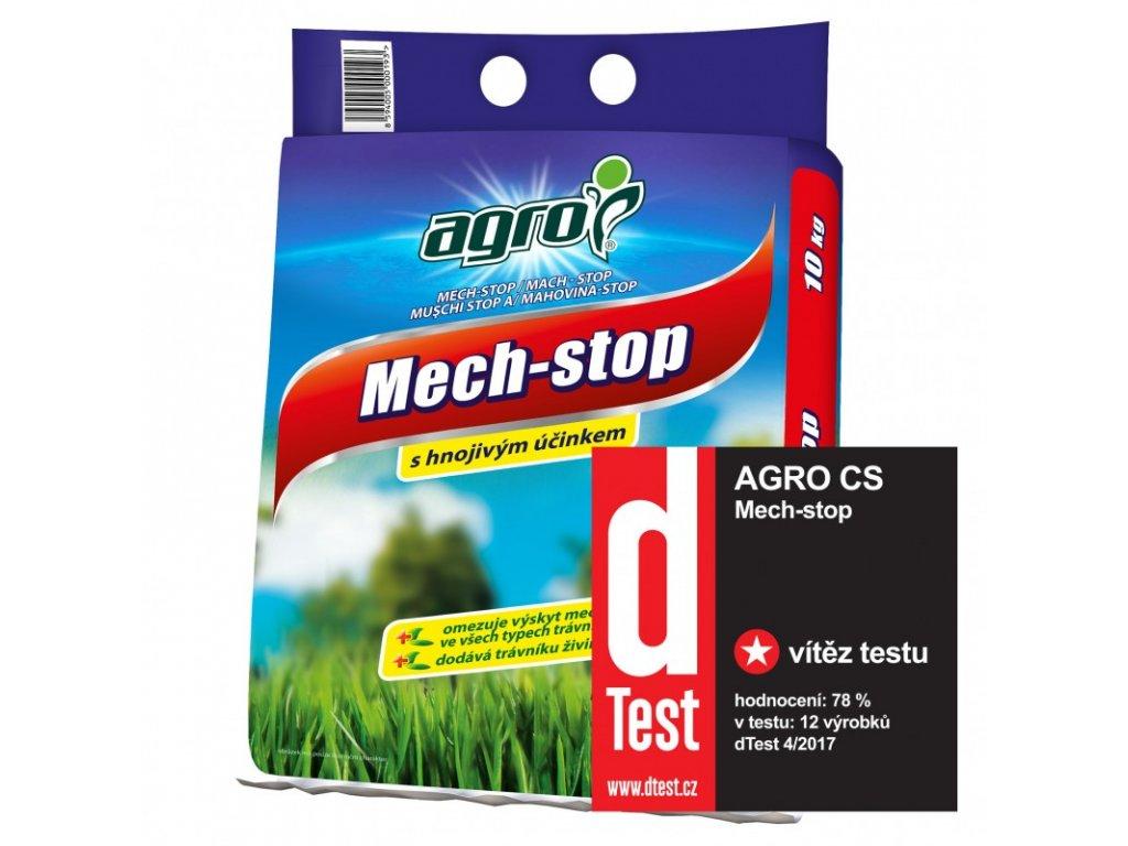 Hnojivo MechStop proti mechu v trávníku