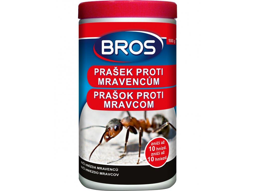 Bros Prášek proti mravencům 100g