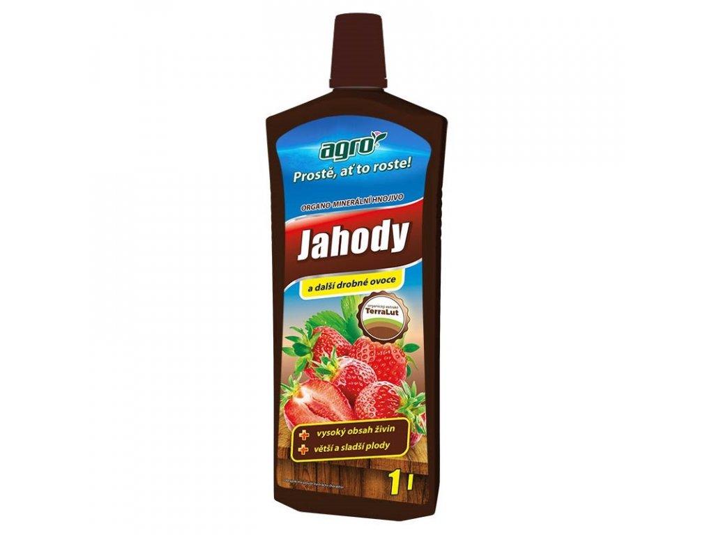 Kapalné hnojivo na jahody a ovoce