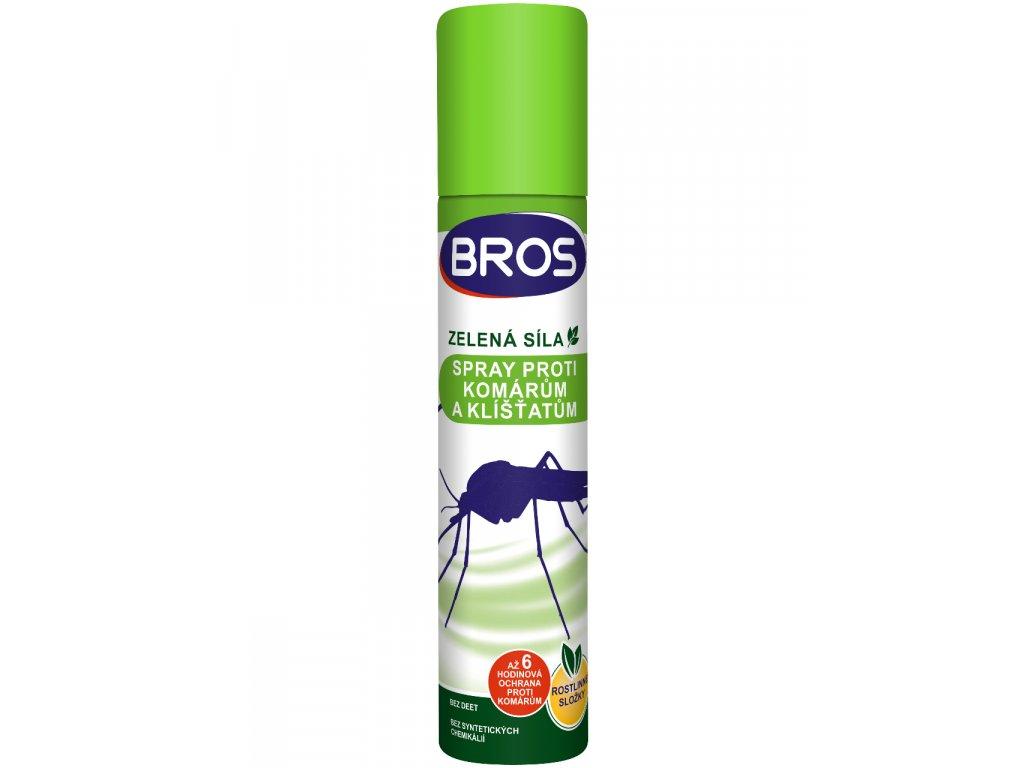 BROS zs sprej proti komarom a kliestom 90ml