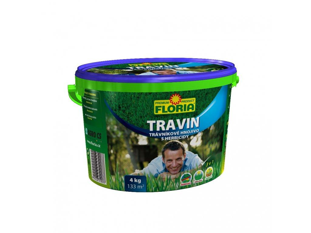 Hnojivo na trávník Travin v balení 4kg
