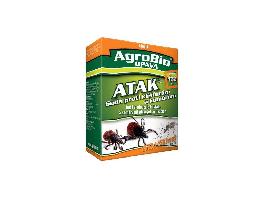 ATAK Sada proti klíšťatům a komárům 50 + 50ml