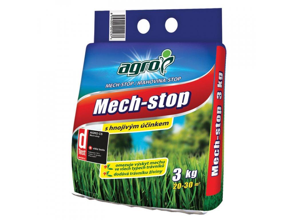 Hnojivo proti mechu v trávníku MechStop