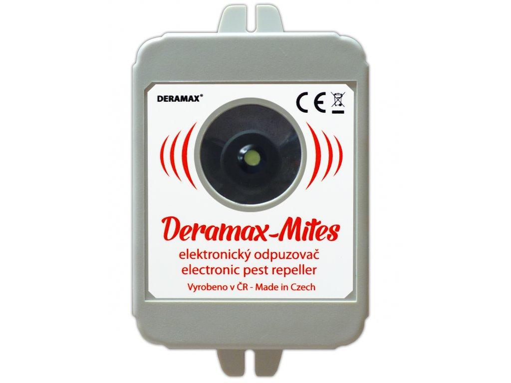 Deramax Mites - ultrazvukový odpuzovač roztočů na 50m²