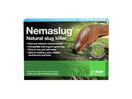 Parazitické hlístice proti slimákům Nemaslug 100m²