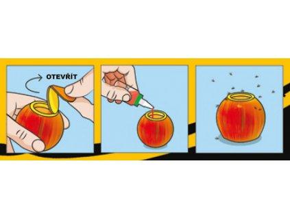 Past na octomilky Citronek