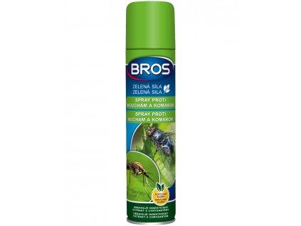 Zelená síla - Sprej proti mouchám a komárům BROS 300ml