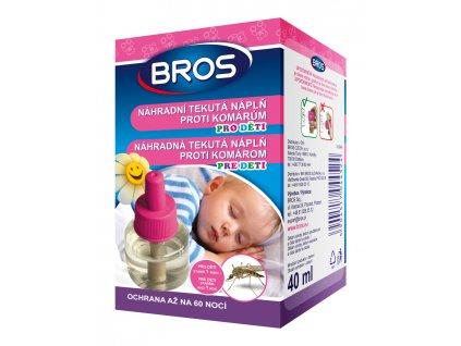 Bros KIDS náhradní tekutá náplň proti komárům (60nocí)
