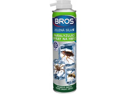 Mrazicí ekologický sprej na hmyz, pavouky a larvy
