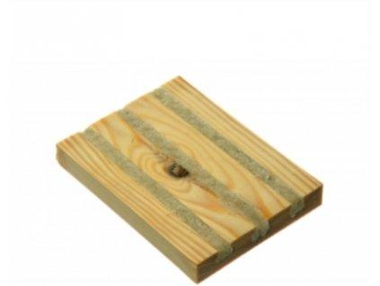 Dřevěná past na lalokonosce s hlísticemi - Nematop broukfree