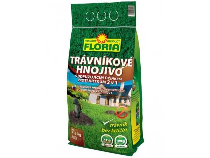 Trávníkové hnojivo s odpuzujícím účinkem proti krtkům 7,5kg