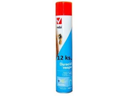 Duracid vespe 750ml sprej na likvidaci vos a vosích hnízd 12ks.