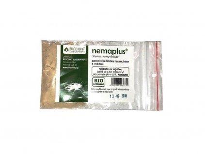 Nemaplus: hlístice Steinernema feltiae proti larvám smutnic (5mil.)