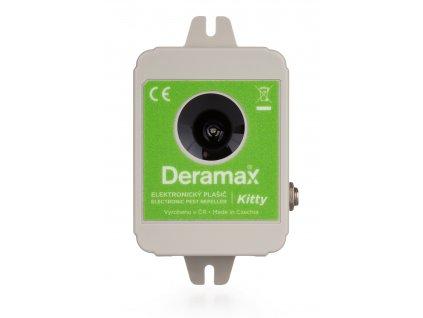 Deramax Kitty - ultrazvukový plašič koček a psů na 150m²