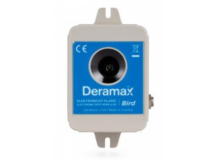 Deramax Bird - ultrazvukový plašič ptáků na 1950m²