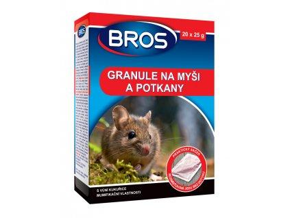 Granule na hubení potkanů a myší 140g