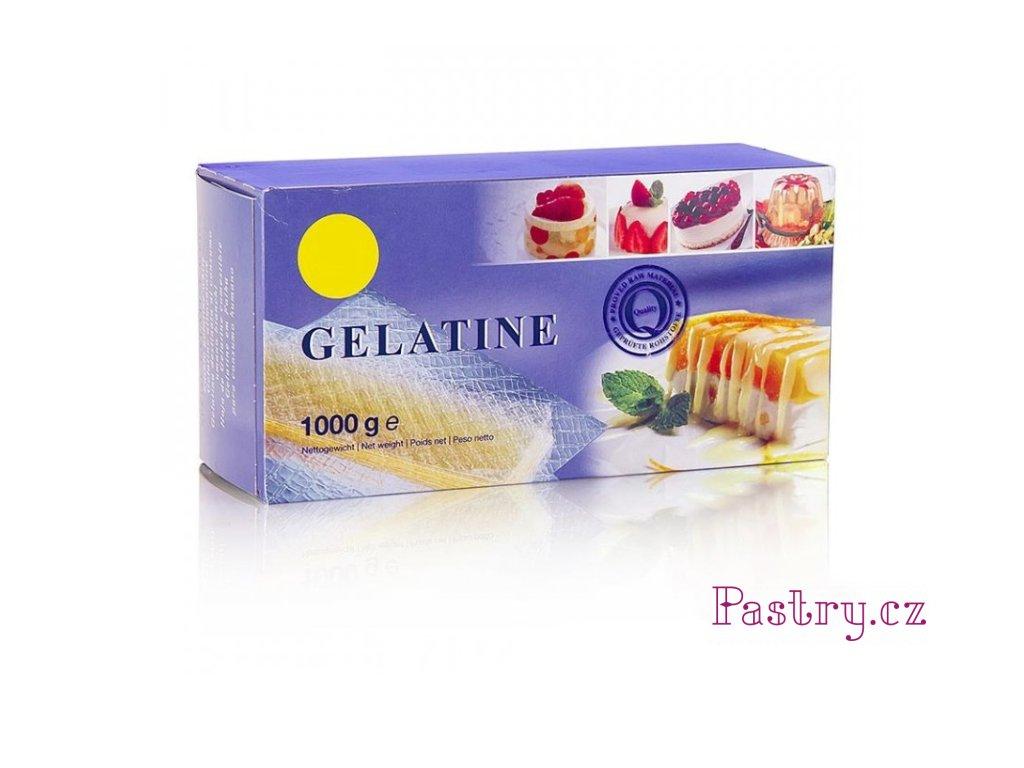 84151 leaf gelatine platin 230 bloom