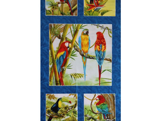 Birds in paradise PANEL