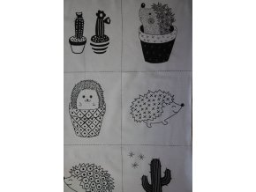 Cute Cactus Life PANEL