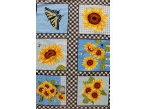 SUNNY FLOWERS PANEL